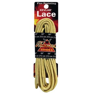 "84"" Kevlar Boot Laces - Yellow - Wildland Warehouse 