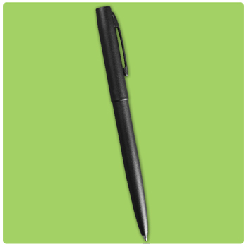 Tactical Black Clicker Pen