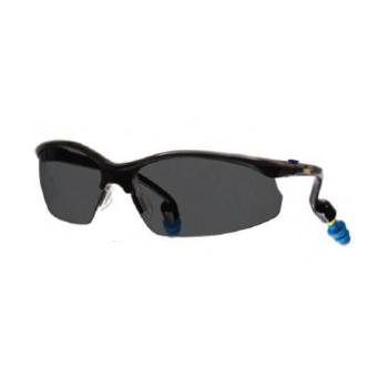 Safety Eyewear with PermaPlug, Grey Anti-Fog Lenses