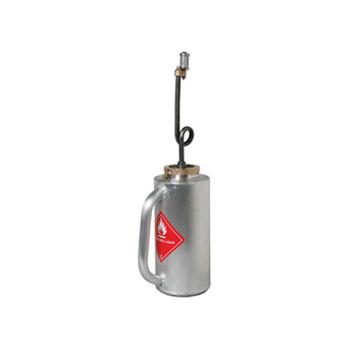 1 1/4 Gal. Drip Torch - Brushed Aluminum