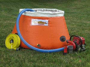Wildland Warehouse Pumpkin Tank 125 Gallons