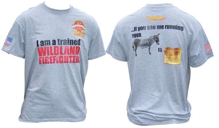 Wildland Toast T-shirt - Wildland Warehouse | Gear for Wildland Fire