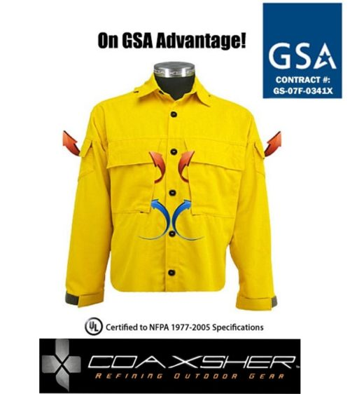 Coaxsher CX Wildland Vented Brush Shirt - Wildland Warehouse | Gear for Wildland Fire
