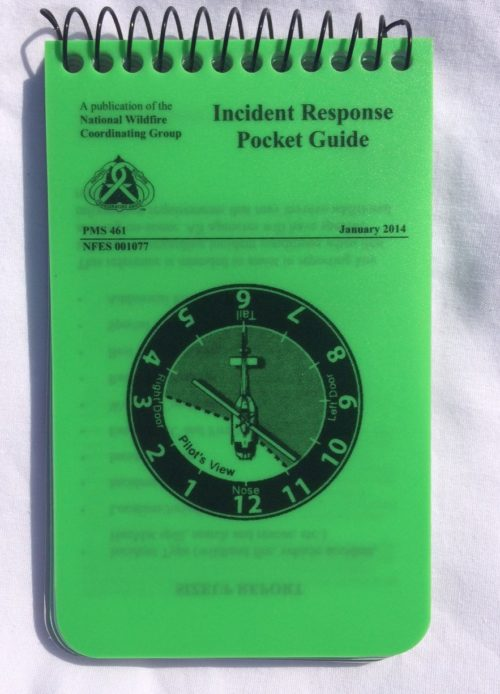 Incident Response Pocket Guide - Wildland Warehouse | Gear for Wildland Fire