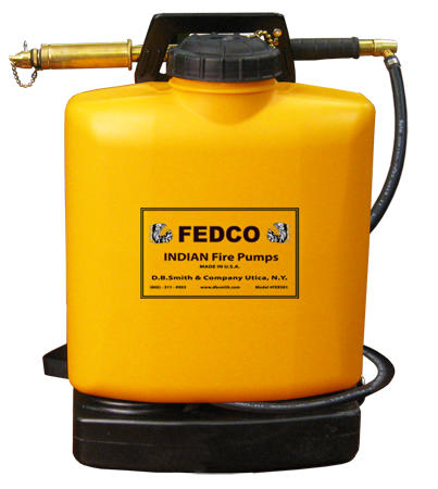 5 Gal. FedCo Rigid Poly Backpack Pump - Wildland Warehouse | Gear for Wildland Fire