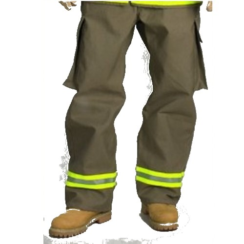 Khaki Nomex Overpants w/ Triple Trim - Wildland Warehouse | Gear for Wildland Fire