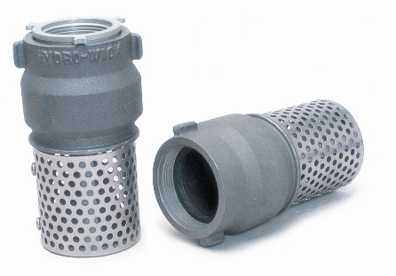 "2"" Metal Foot Valve Strainer - Wildland Warehouse 