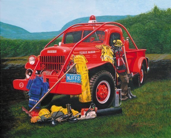 Power Wagon Print - Wildland Warehouse | Gear for Wildland Fire