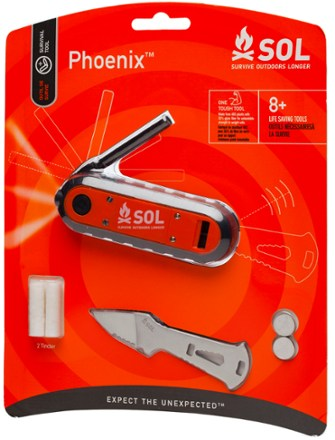 Pheonix - 8 surival essentials in 1 tool - Wildland Warehouse | Gear for Wildland Fire
