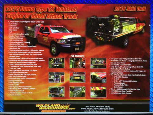 Wildland Warehouse Brush Truck