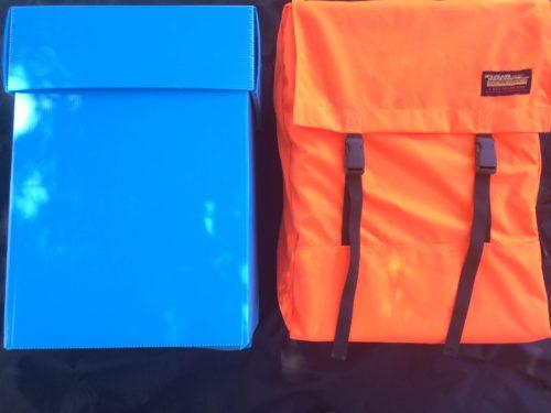 Blaze Orange Hose Pack Combo w/ Box - Wildland Warehouse | Gear for Wildland Fire