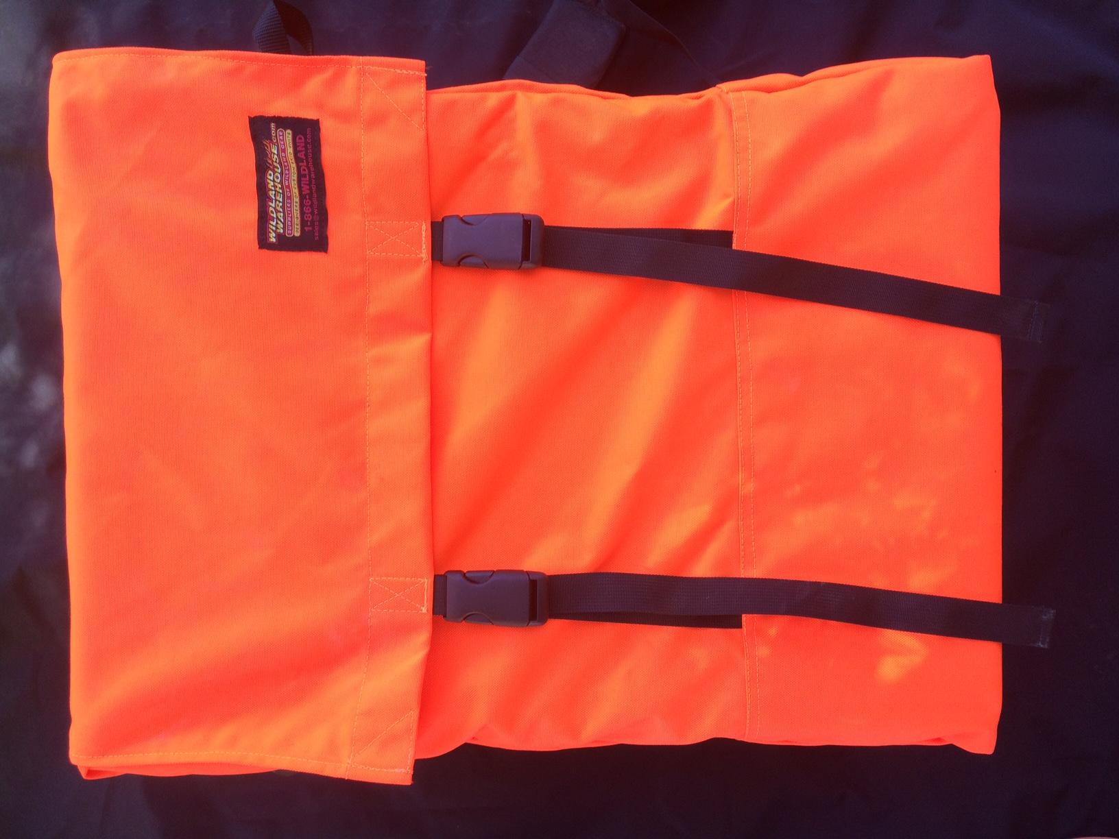 Blaze Orange Hose Pack - Wildland Warehouse | Gear for Wildland Fire