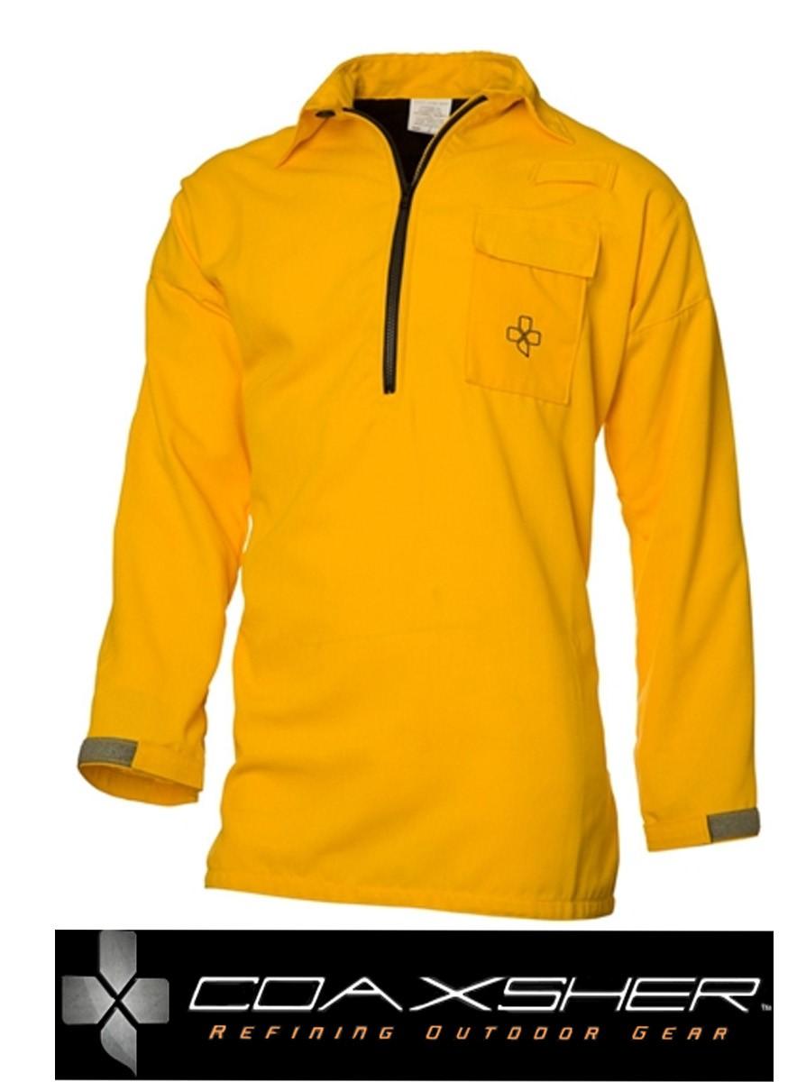 "Stryker ""Hickory Style"" 5.8oz Tecasafe Wildland 1/4 ZipFire Shirt - Wildland Warehouse | Gear for Wildland Fire"