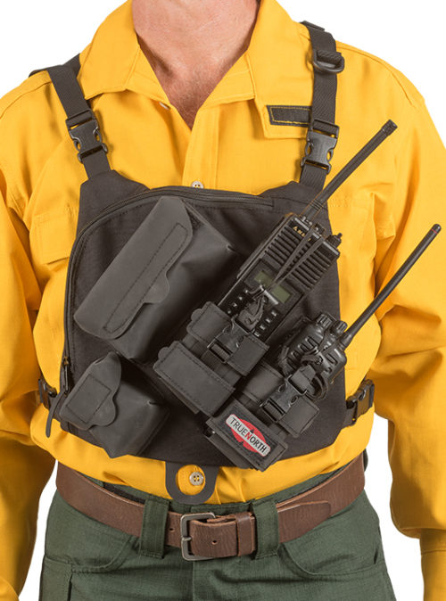 Dual Radio Chest Harness-Gen II - Wildland Warehouse | Gear for Wildland Fire