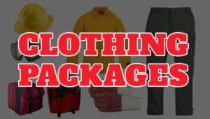 wildland fire gear clothing packages